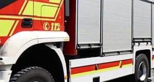 Feuerwehrfahrzeug seitlich