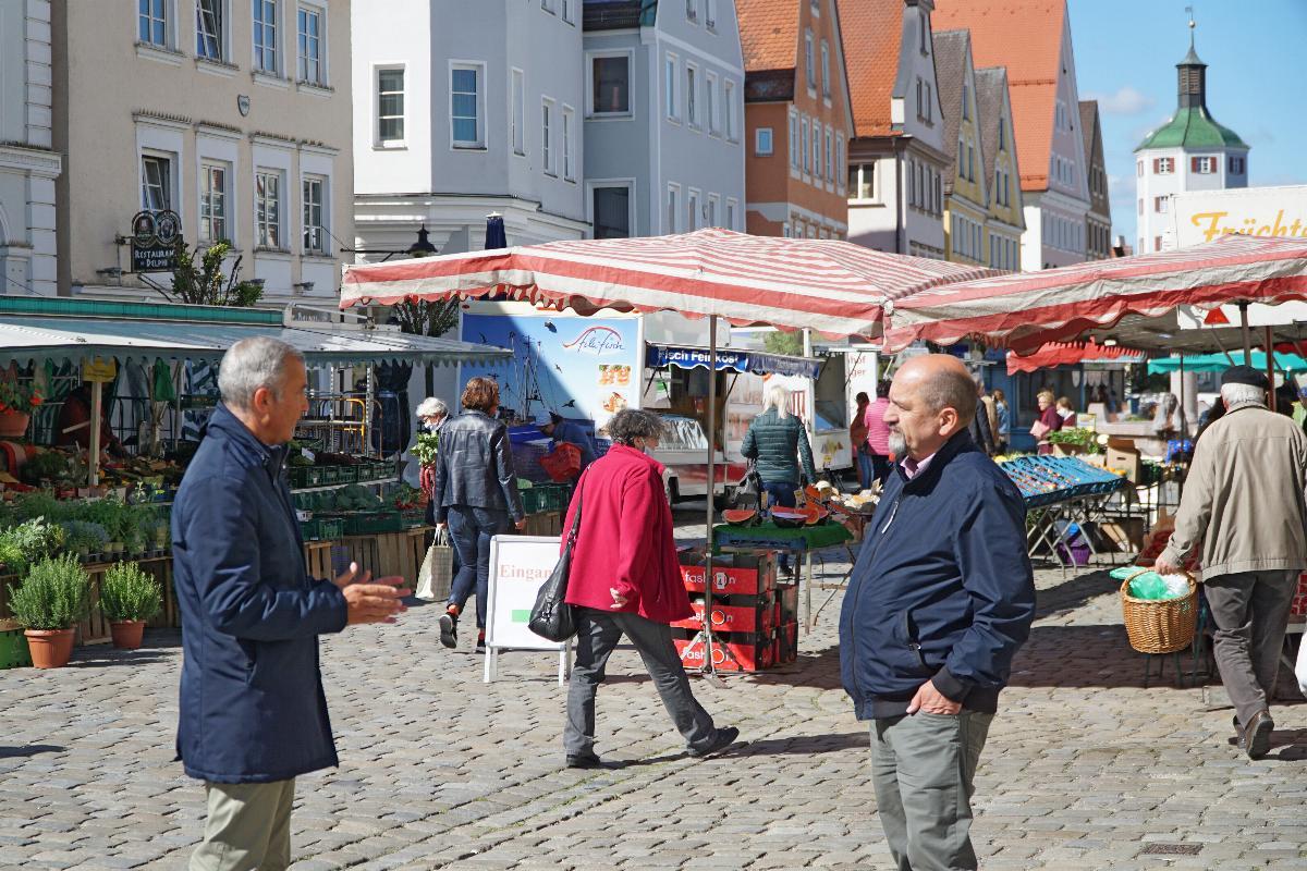 Guenzburg Außengastronomie Sondernutzungsflaechen
