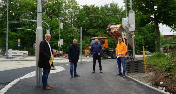 Guenzburg Polizeiohr Baustelle
