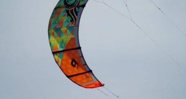 Kite-Surfer Segel