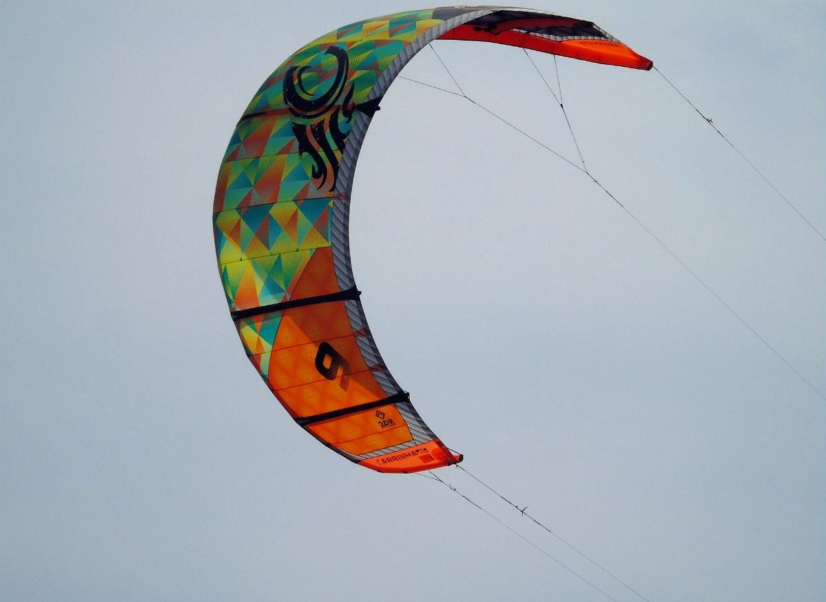 Kite-Surfer Segel