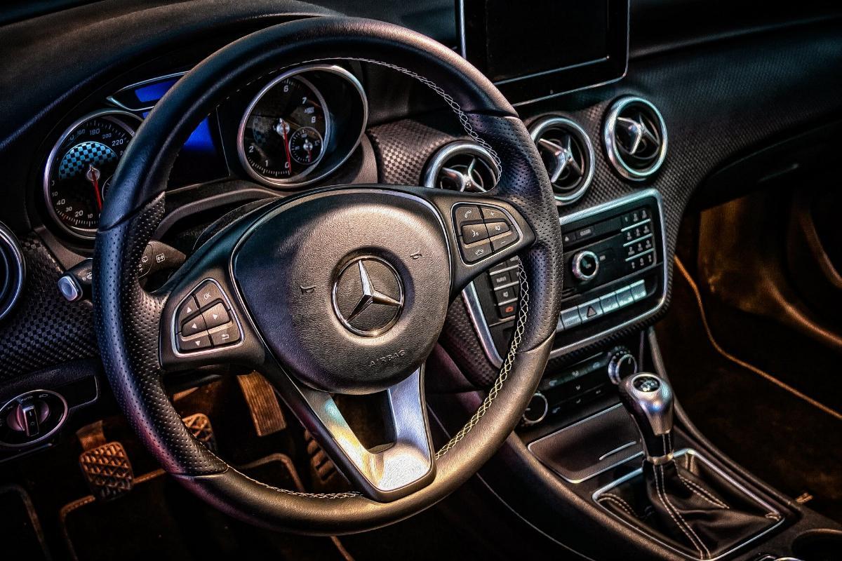 Lenkrad Mercedes