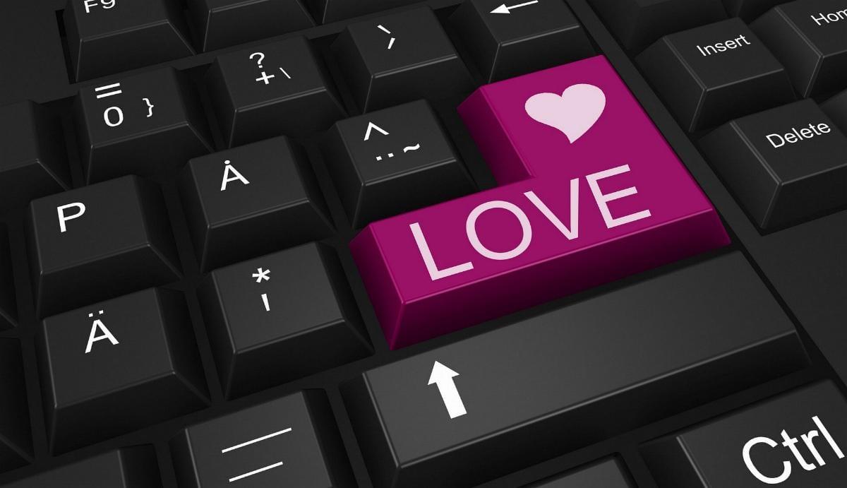 Liebe Tastatur Dating