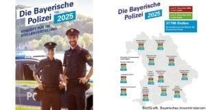 Polizei Bayern Stellenkonzept 2025