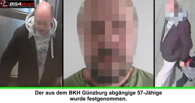 Roman Frommelt Flucht BKH Guenzburg