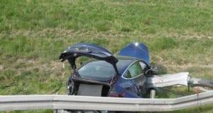 Tesla Unfall A8 Burgau Guenzburg 08052020 6