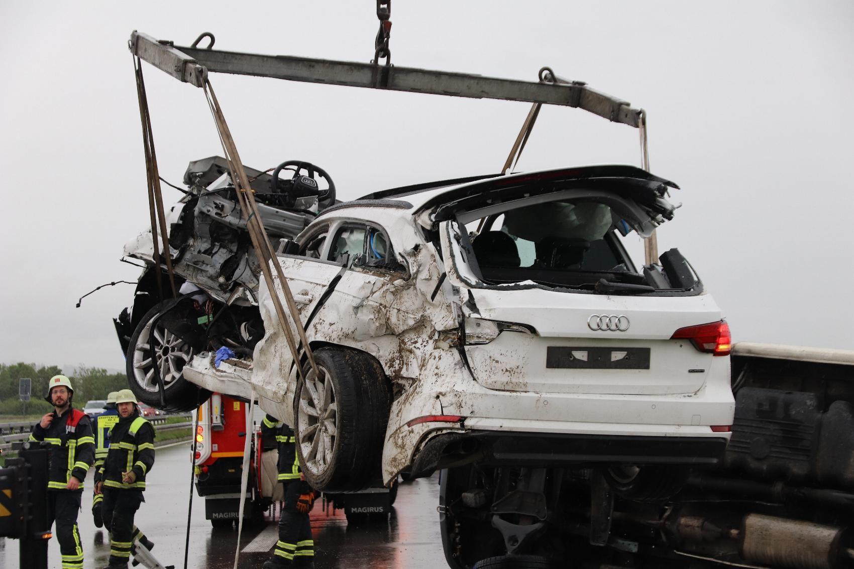 Unfall A7 Woringen 23052020 3