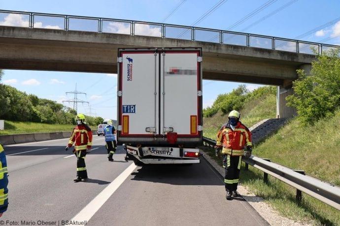 Unfall A8 Burgau-Guenzburg bei Deffingen 19052020 10