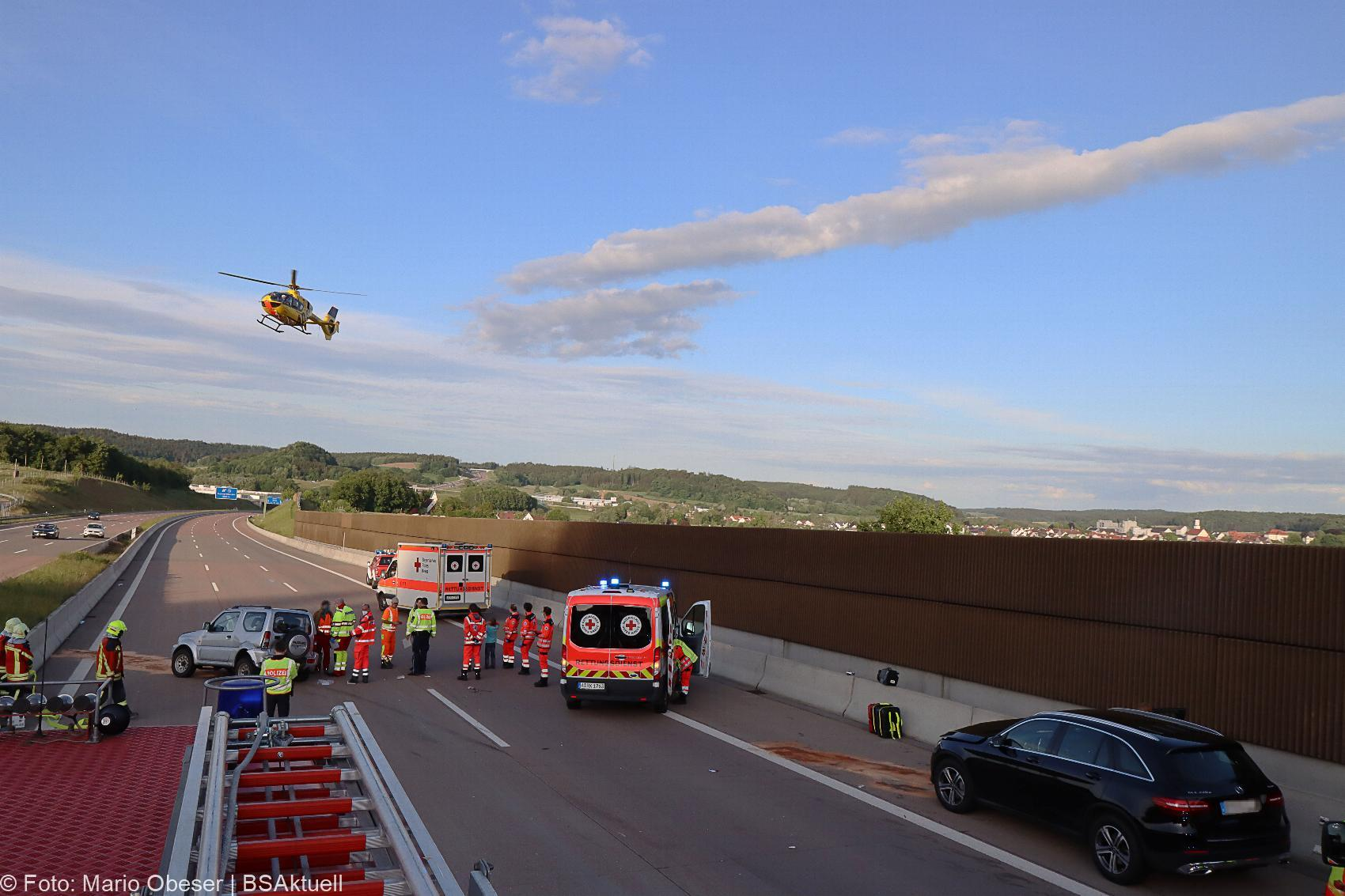 Unfall A8 Burgau-Zusmarshausen 24052020 10