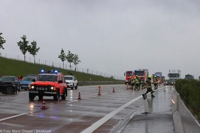 Unfall A8 GZ-Burgau 3 Pkws 23052020 3