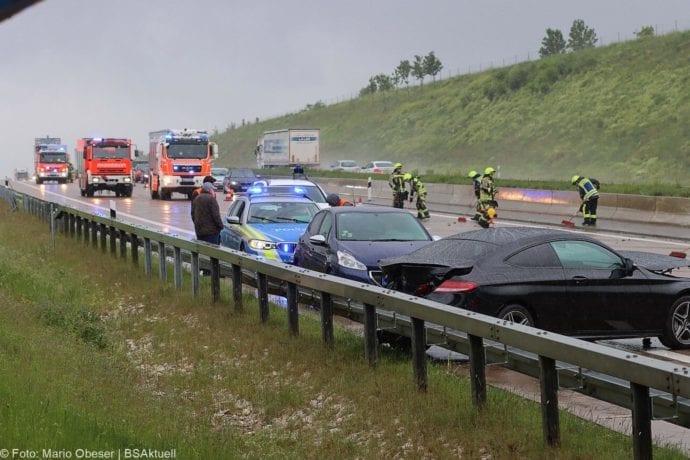 Unfall A8 GZ-Burgau BMW 23052020 1