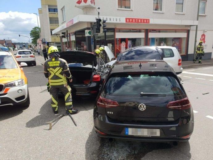 Unfall Guenzburg Augsburger Strasse Sedanstrasse 24052020 2