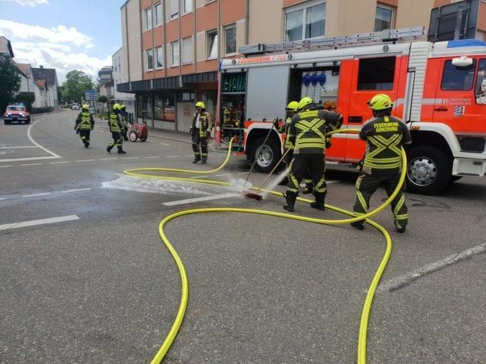 Unfall Guenzburg Augsburger Strasse Sedanstrasse 24052020 4