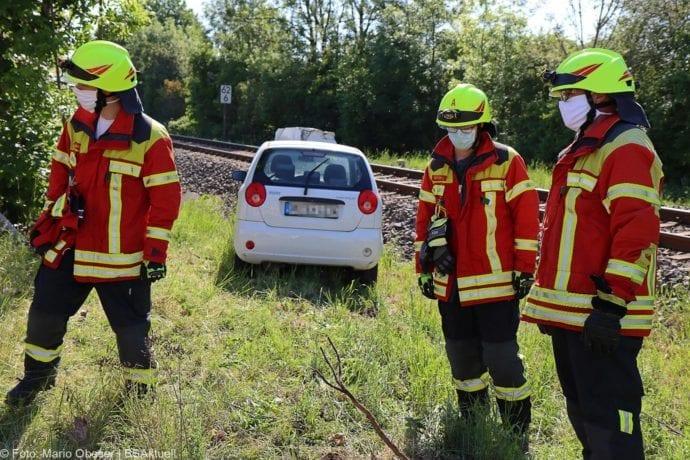 Unfall Oberelchingen Bahnübergang 19052020 1