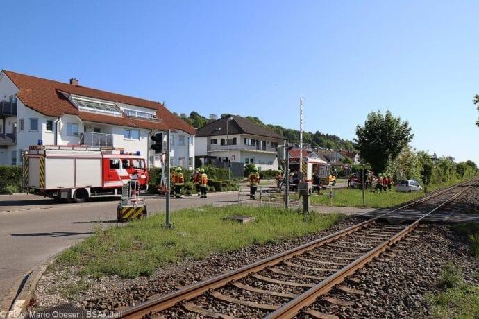 Unfall Oberelchingen Bahnübergang 19052020 2