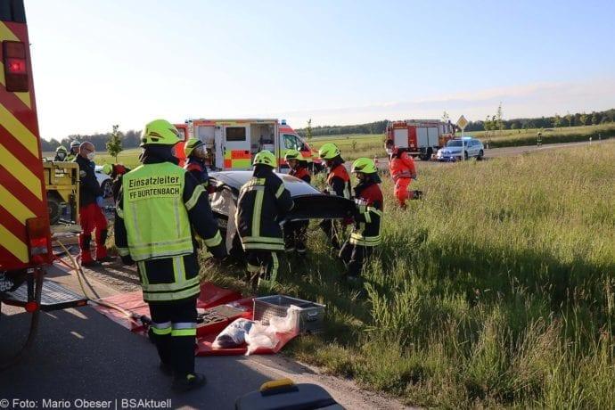 Unfall St2025 Burtenbach 29052020 10