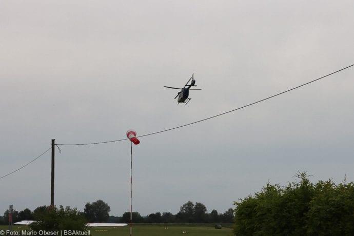 Vermeintlicher Flugzeugabsturz Guenzburg 22052020 2