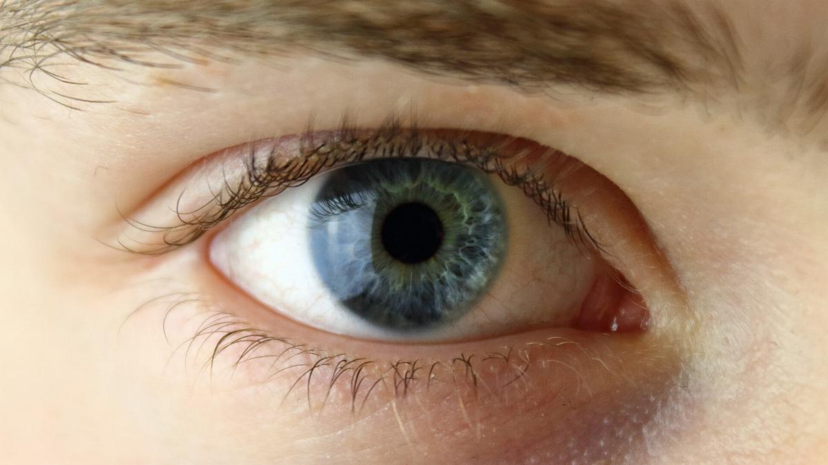 Auge Mann