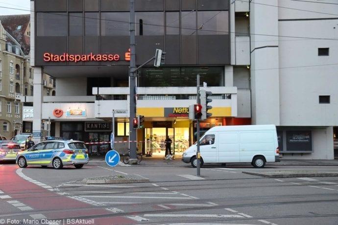 Augsburg Ladendieb Polizei angeschossen 19062020 3
