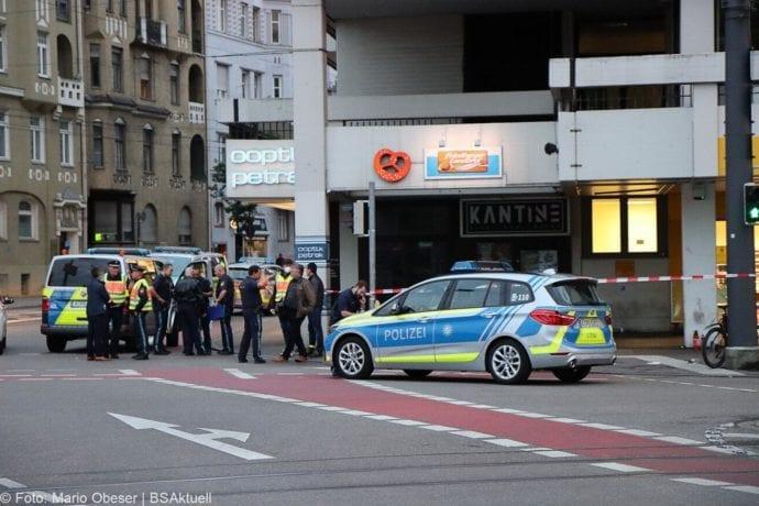 Augsburg Ladendieb Polizei angeschossen 19062020 4