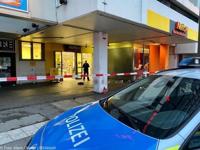 Augsburg Ladendieb Polizei angeschossen 19062020 9