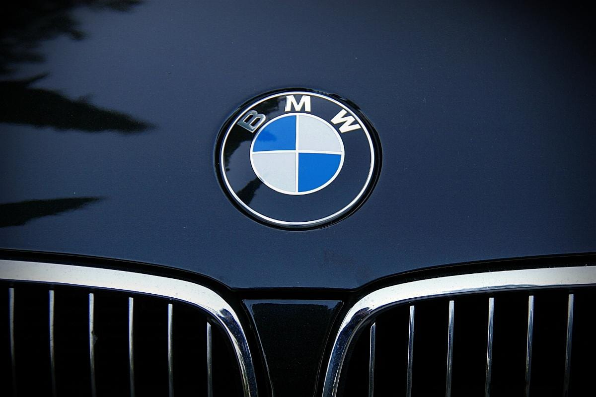 BMW Emblem Motorhaube