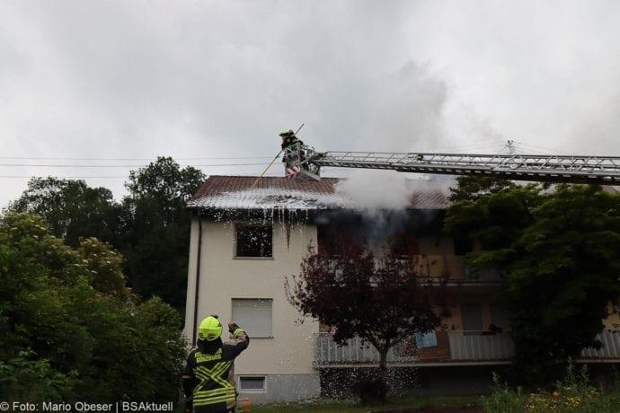 Brand Guenzburg Reisensburg Asylunterkunft 15062020 15