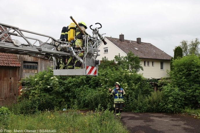 Brand Guenzburg Reisensburg Asylunterkunft 15062020 2