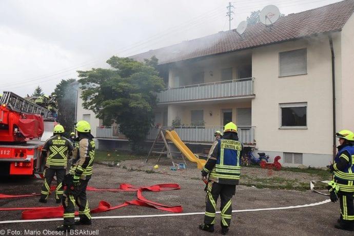 Brand Guenzburg Reisensburg Asylunterkunft 15062020 22