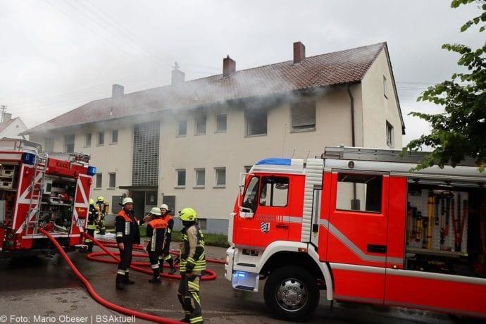 Brand Guenzburg Reisensburg Asylunterkunft 15062020 28