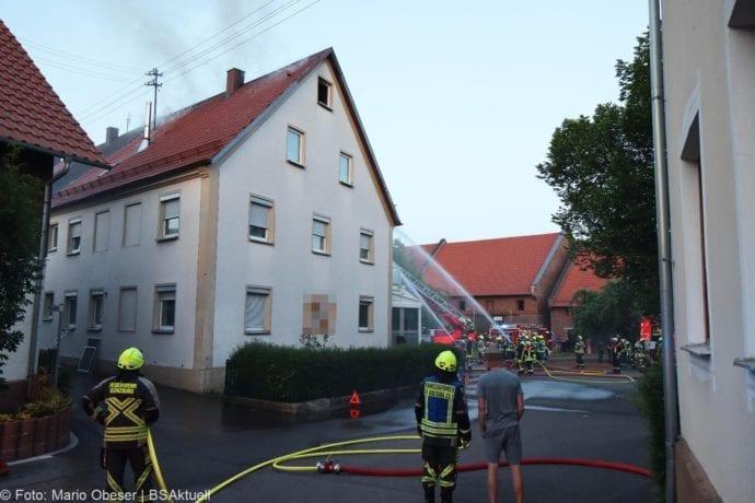 Brand Riedhausen Wohnhaus 02062020 17