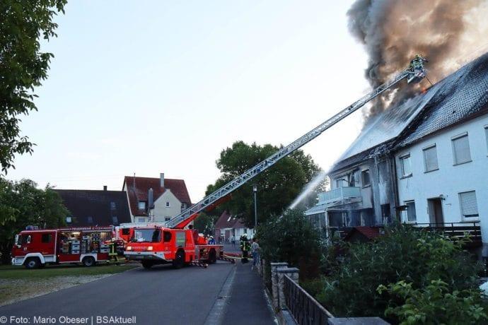 Brand Riedhausen Wohnhaus 02062020 21
