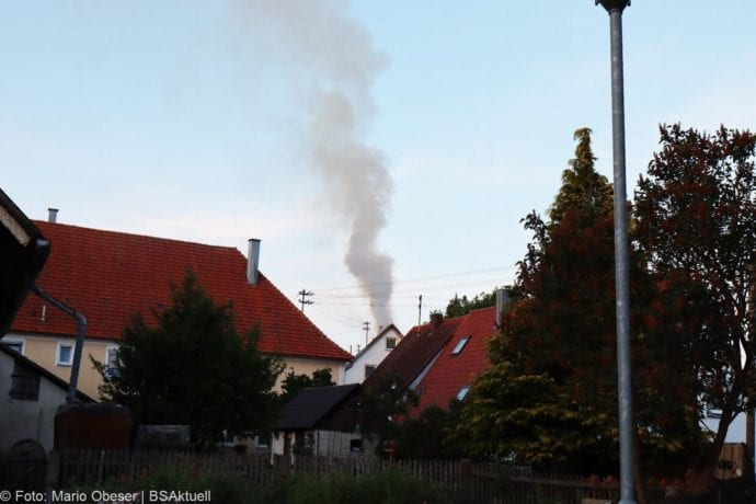 Brand Riedhausen Wohnhaus 02062020 30