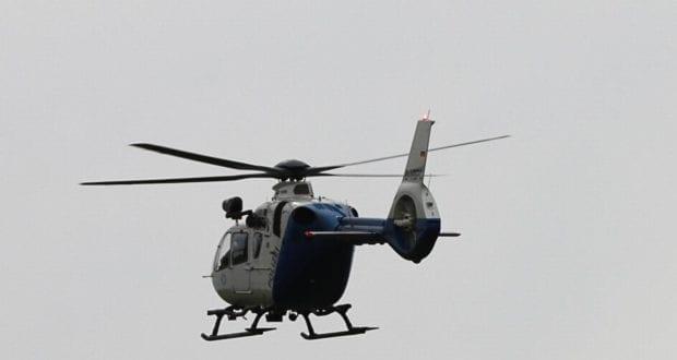 Edelweiss Polizeihubschrauber im Flug