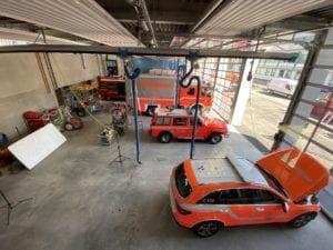 Feuerwache Guenzburg Fahrzeughalle 2