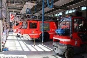 Feuerwache Guenzburg Fahrzeughalle 4