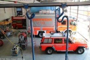 Feuerwache Guenzburg Fahrzeughalle 5