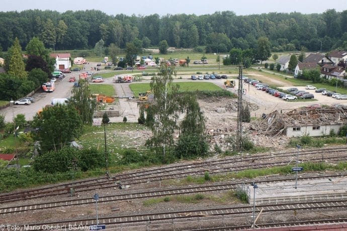 Guenzburg Explosion am Bahnhof 17062020 57