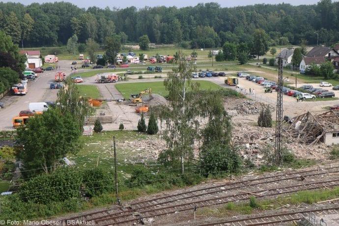Guenzburg Explosion am Bahnhof 17062020 63