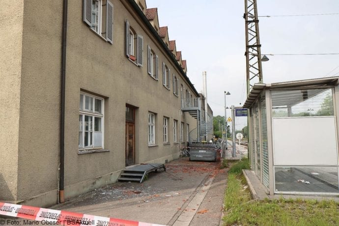 Guenzburg Explosion am Bahnhof 17062020 64