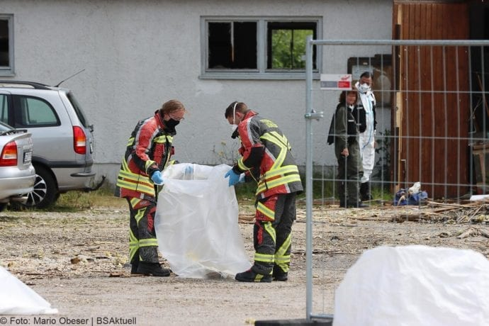 Guenzburg Explosion am Bahnhof 17062020 77