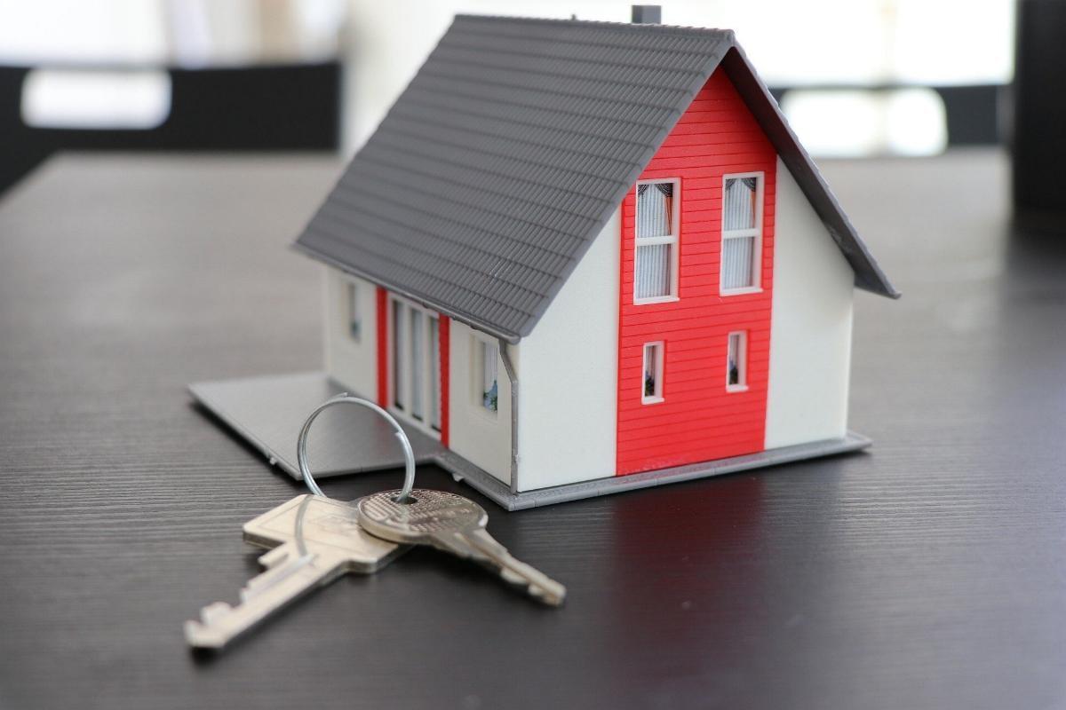 Haus Hausschlüssel Schlüssel