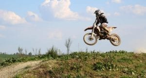 Moto-Cross Maschine
