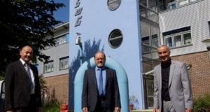 Stadtwerke guenzburg Verabschiedung Johann Stelzle