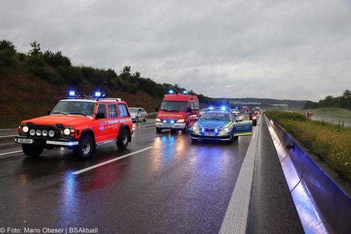 Unfall A8 Guenzburg-Leipheim 14062020 2