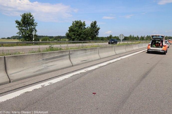 Unfall A8 Guenzburg-Leipheim 27062020 4