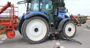 Unfall B16 Gundelfingen Traktor übersieht Pedelec-Fahrer 03062020 3