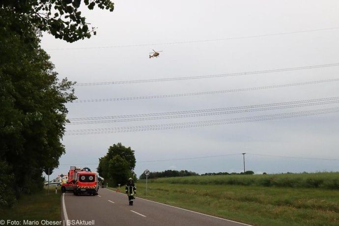 Unfall ST2510 bei Nornheim 04062020 8