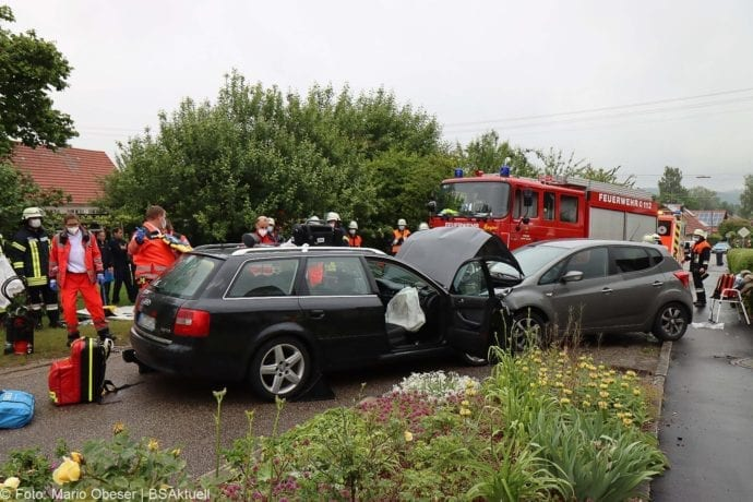 Unfall Unterrohr Ortseingang 10062020 12