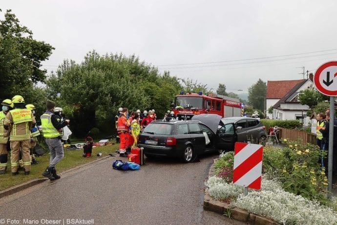 Unfall Unterrohr Ortseingang 10062020 13